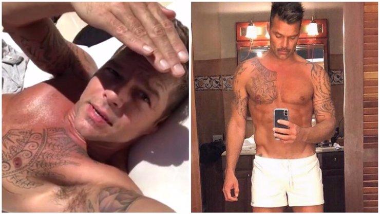 Ricky Martin popírá zákony přírody! Před padesátkou se pochlubil svým dokonalým tělem