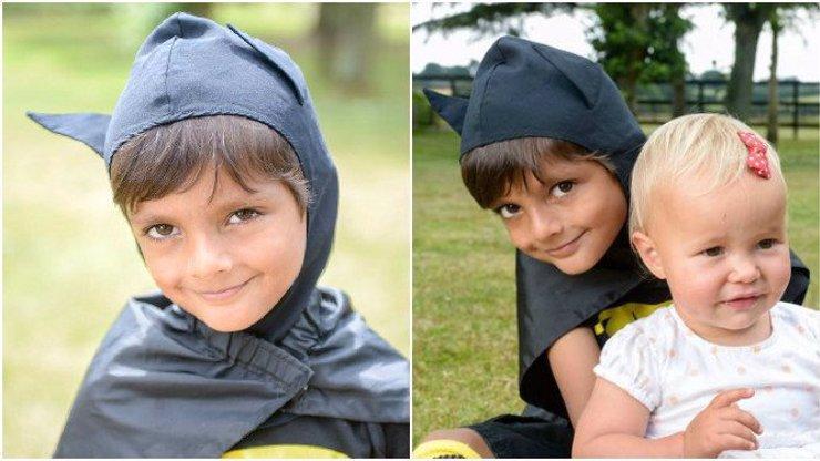 Chlapec (5) v kostýmu Batmana uviděl malé dítě uvězněné v rozpáleném autě a nijak neváhal!