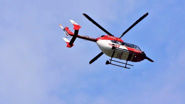 Čech (30) padal v Rakousku 8 metrů ze skály: Na pomoc mu musel přiletět vrtulník