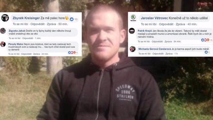 První Čech obviněný za schvalování masakru muslimů na Novém Zélandu: Co ho čeká?