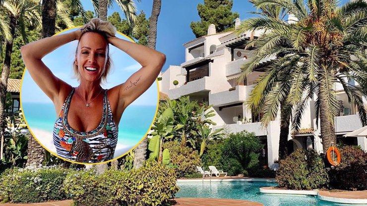 Zuzana Belohorcová zakotvila ve Španělsku: Předvedla nové luxusní bydleníčko