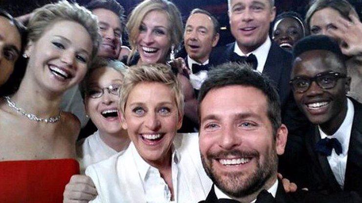Pozor! Odhalíme vám temnou a odvrácenou stranu vzniku této nejsdílenější selfie fotky z Oscarů!