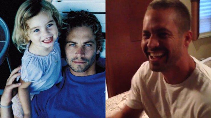 Dosud neviděné video Paula Walkera s dcerou: Na záběrech prožívá skutečné štěstí