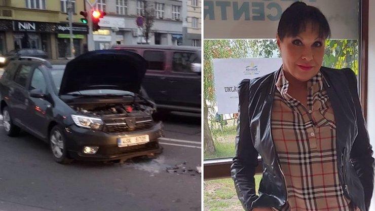 2,5 PROMILE ALKOHOLU! Dáda Patrasová se před nehodou v Praze brutálně zpila