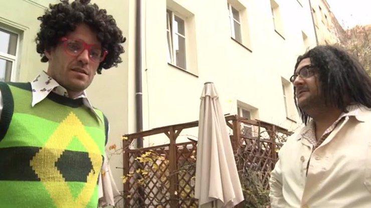 Leoš a Patrik jako dva retardi v děsivých parukách: Vydali se na konkurz dělat ajťáky!