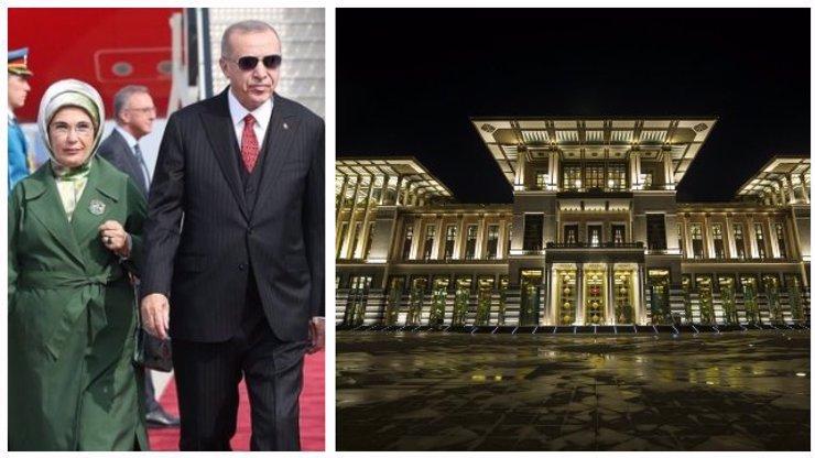 Erdoganovi si potrpí na luxus: Přepychový palác a utrácení milionů za zbytečnosti