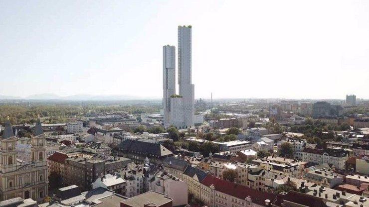 V Ostravě vyroste nejvyšší mrakodrap v Česku: Šedesátipatrová budova má měřit 238 metrů