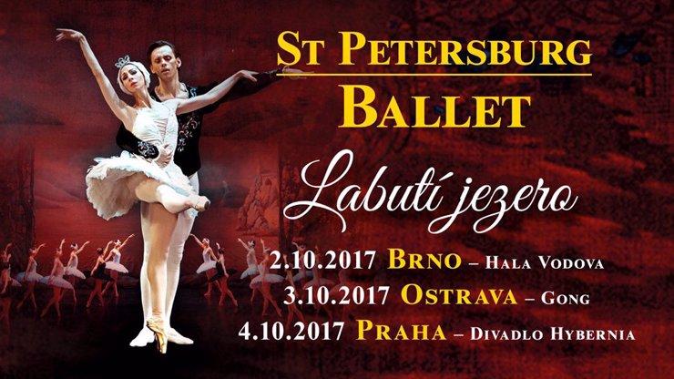 Fenomenální petrohradský balet míří do České republiky: Labutí jezero si nesmíte nechat ujít!