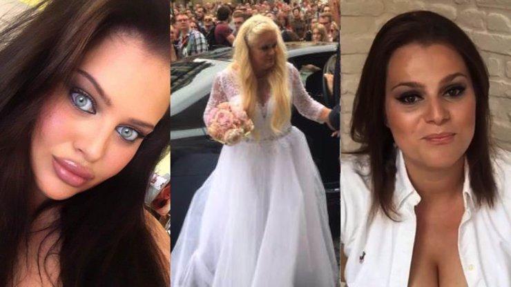 Monika Štiková se s Charlotte a Ornellou neusmířila ani po svatbě: Zloba i trapnost