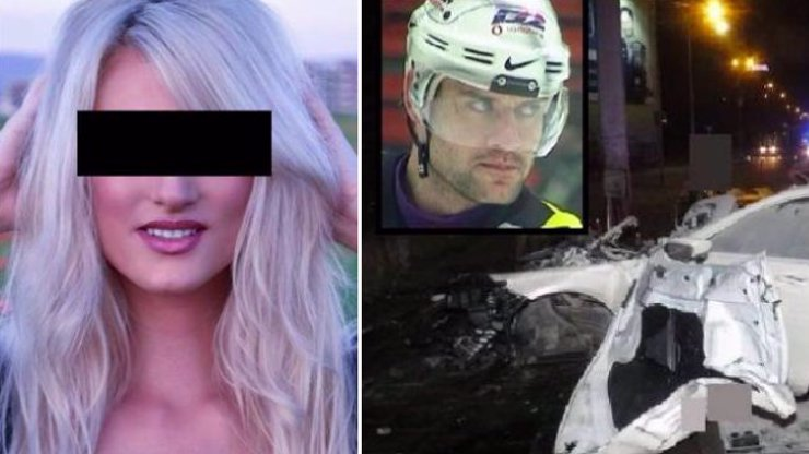 Hokejista Kunce ŘÍDIL OPILÝ: Zabil krásnou Janu, sám leží na psychiatrii!