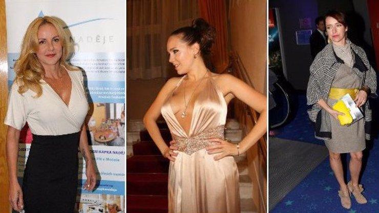 6 žen z českého šoubyznysu, kterým se zachtělo mladého masíčka. Kdo má svého kolouška?