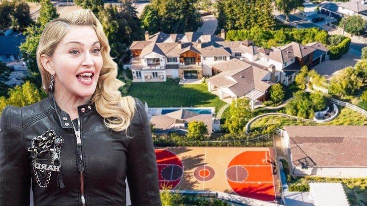 Madonna koupila obří luxus: Sídlo má tolik pokojů, že se tam dá jít na celodenní výlet