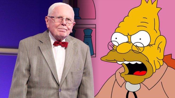Nejstarší dabér Simpsonových Dalimil Klapka (87): Na dědečka jsem už starý, musím ale zůstat