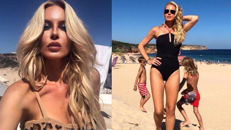 Simona Krainová (46) vypadá naprosto skvěle: V plavkách je žhavější než kdejaká dvacítka