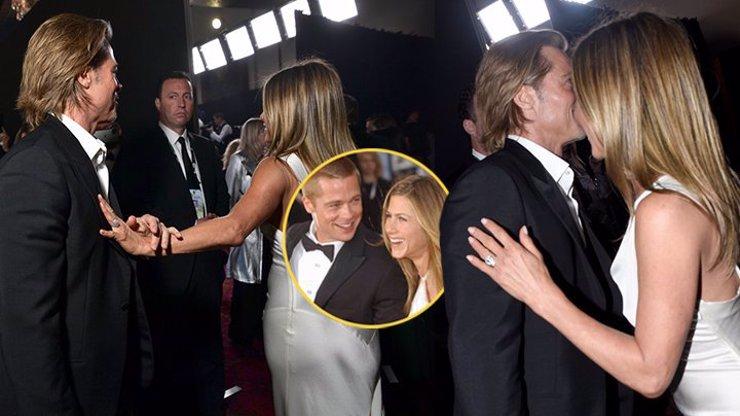 Fámy o jiskření mezi Jennifer Aniston a Pittem nabírají na síle! Zásnubní prsten od něj stále nosí