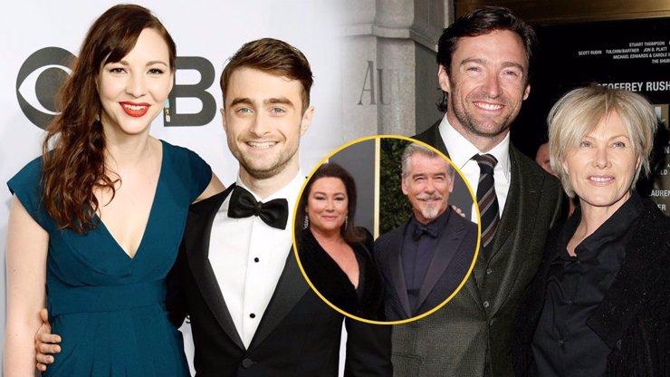7 celebrit, které neřeší, že jsou jejich drahé polovičky staré, švorc nebo nedokonalé