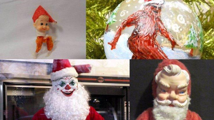 Co to sakra je?! 15 hodně bizarních vánočních dekorací
