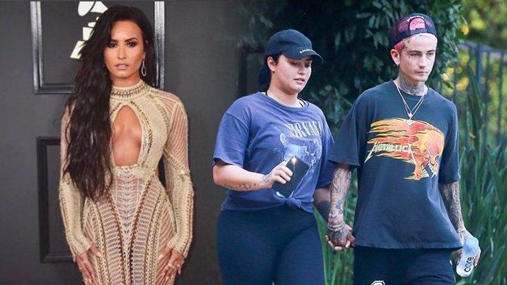 Bývalá feťačka Demi Lovato není ve formě: Předvedla kila navíc a podivného přítele