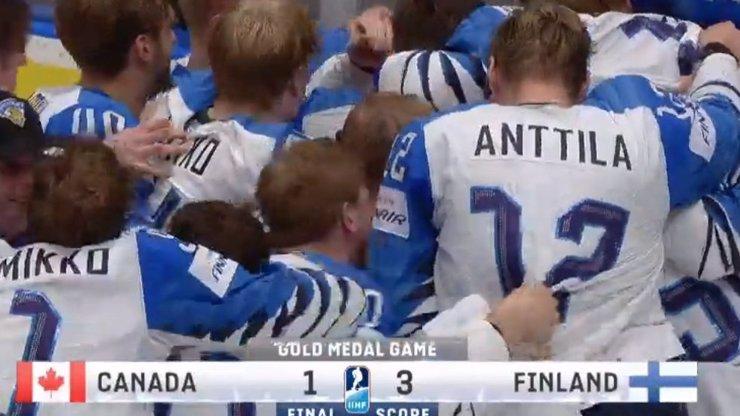MS světa v hokeji ovládlo Finsko, veze domů ZLATO. Na Slovensku se hrát ale už nebude!