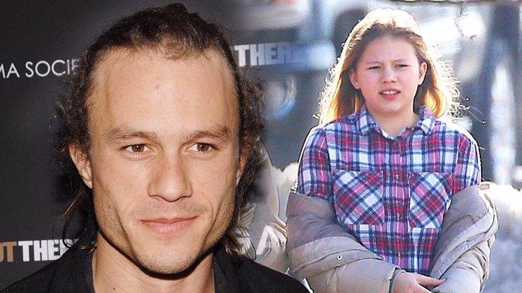Heath Ledger je už 13 let po smrti: Jeho dcera je mu neuvěřitelně podobná, jak to zvládá