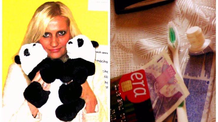 Milenka Zdeňka Macury, týraná blondýna Vlaďka ukázala obsah záchranného balíčku: Bude v něm přesně to, co nečekáte!