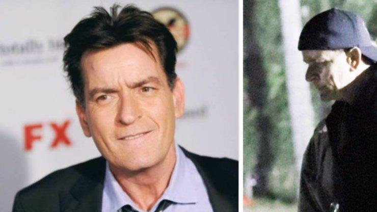 Nezřízený život si vybírá daň: Hvězda Dva a půl chlapa Charlie Sheen vypadá jako stařec!