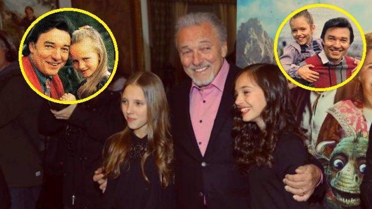 Nejkrásnější snímky Karla Gotta s dcerami: Holky mají na tatínka nádherné vzpomínky