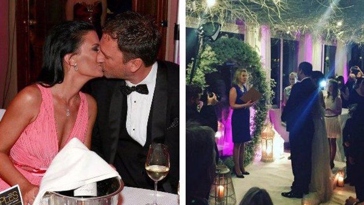 Je to tady! První fotka ze svatby Gábiny Partyšové a jejího milionáře!