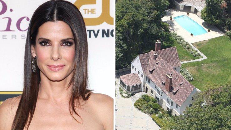 Sandra Bullock nachytala ve svém luxusním sídle zloděje. Fotku herečky, která zkolabovala, najdete v galerii