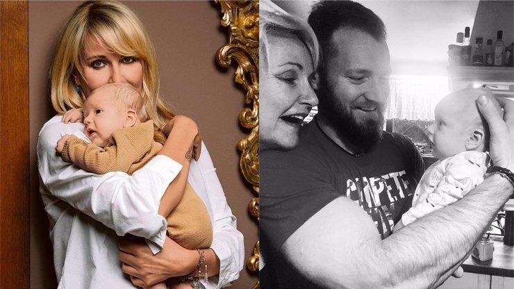 Vendula Pizingerová si pozdní mateřství užívá: Ukázala mužský klan a láskyplný chaos