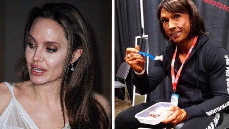 Věra Mikulcová jako česká Angelina Jolie: Dieta z ní udělala s nadsázkou kopii herečky