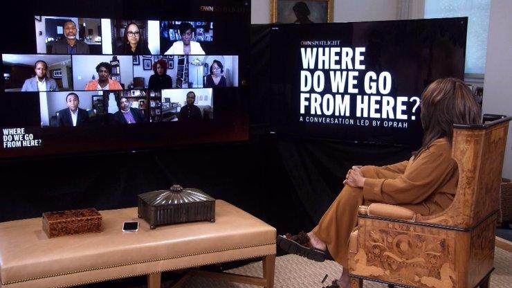 Tragickou smrt George Floyda i současný stav Ameriky rozebere Oprah Winfreyová se svými hosty na Discovery Channel