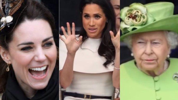 Meghan (37) může Kate (37) pěkně závidět: Královna jí připravila mimořádné překvapení
