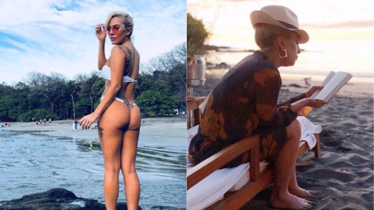 Koukněte, jak Lady Gaga na dovolené vyšpulila luxusní zadeček. To je tělo!
