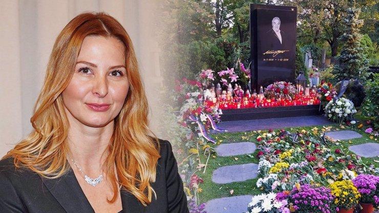 Ivanina první cesta po nucené izolaci: Gottová se šla poklonit k hrobu, zanechala silný vzkaz