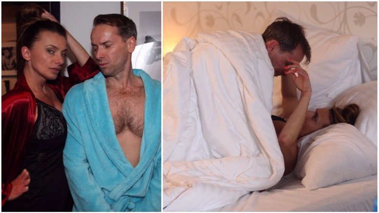 Zimní komedie roku Špindl klepe na dveře: Podívejte se, jak se točila postelová scéna Bendové s Révaiem!
