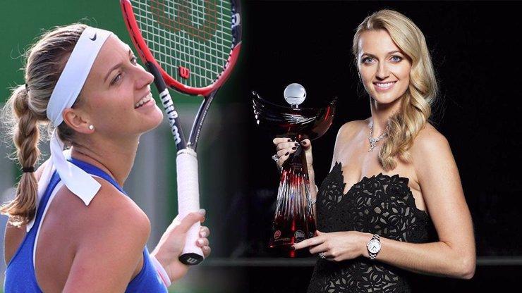 Tenisová královna Petra Kvitová je hráčkou roku! Při předávání cen měla na sobě šperky za miliony