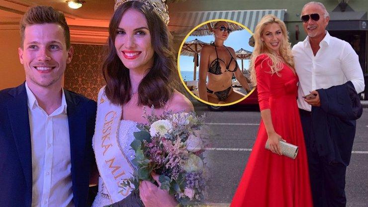 Miss Hodačová zahrnutá luxusem: Chodí s miliardářským synem, jeho otec randí s Miss Europe