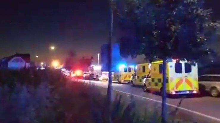 Až třicet pět zraněných a jeden mrtvý. V Českém Brodě se srazily dva vlaky