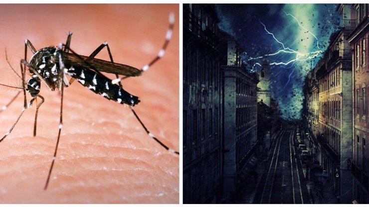 Počasí se o víkendu neumoudří, hlásí meteorologové: Invaze komárů a teploty jako na podzim