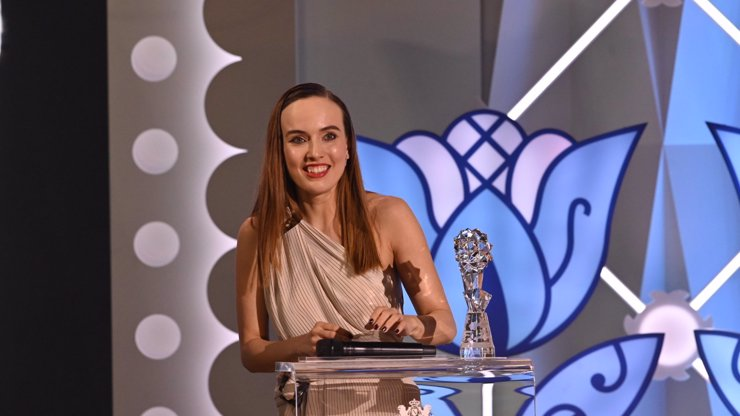 Cenu za nejlepší herečku získala Tereza Ramba: Na pódiu děkovala manželovi i jejich Slunci