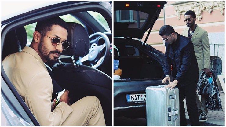Yemiho jsme nachytali při jeho odjezdu z Varů. Proč měl tolik zavazadel jen na 3 dny?!