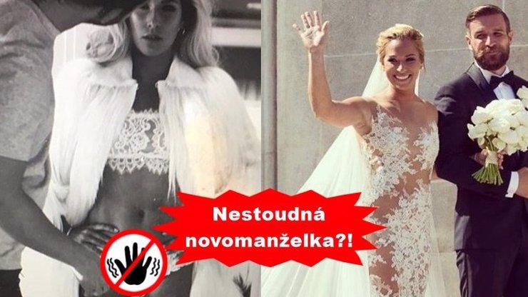 Sexy tenistka Dominika Cibulková má pár měsíců po svatbě a už se jí v klíně dotýká jiný! Co se stalo?