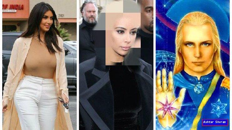Kim Kardashian se odbarvila na blond, asi se někde stala chyba, vypadá jak Aštar Šeran