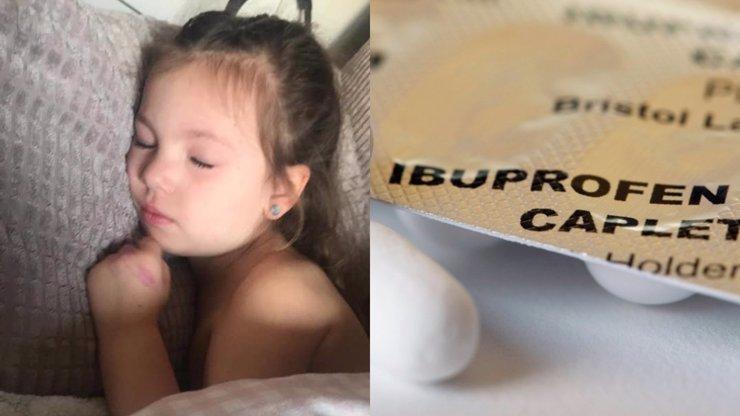 Holčičce (4) s příznaky koronaviru se po ibuprofenu přitížilo: WHO před lékem varuje