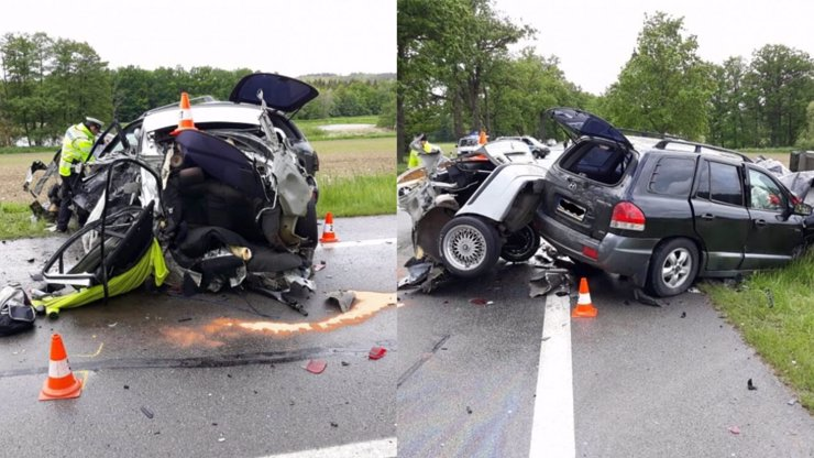 Dvacetiletý mladík rozpůlil BMW a na místě zemřel: Na autě měl velký nápis hovado