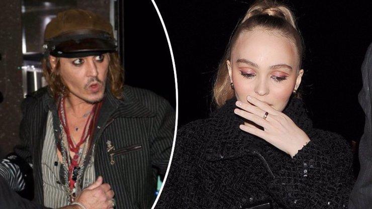Strach o mladičkou dceru Johnnyho Deppa: Boj se zákeřnou anorexií!