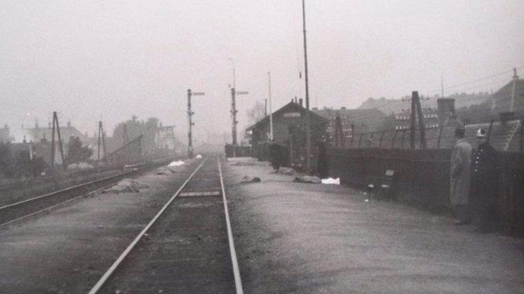 77 let od tragického železničního neštěstí v Židenicích: Vzduchem létaly zbytky těl, strojvedoucí si ničeho nevšiml