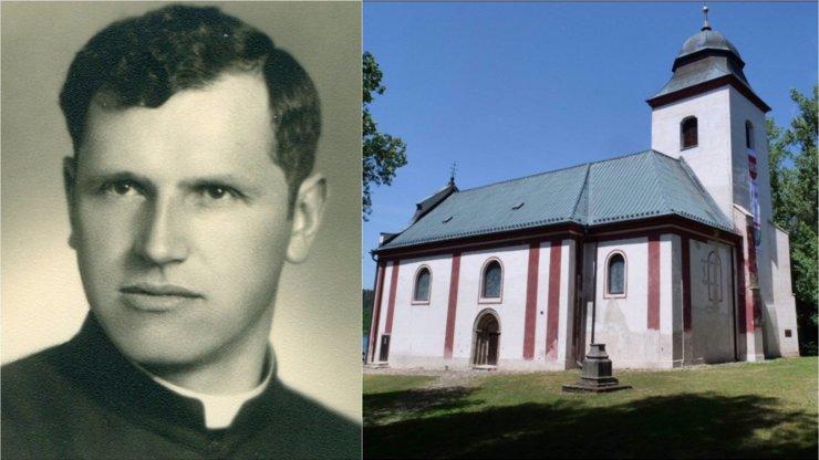 Tajemné město Zahrádka zmizelo pod hladinou: Zbyl jen kostel, kde StB umučila kněze Josefa Toufara