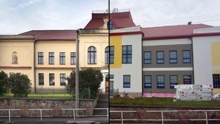 REKONSTRUKCE ROKU! Základní škola v obci Kamenné Žehrovice má ostudu po celém Česku